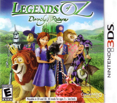 Legends of Oz - Dorothy's Return 3DS coverM (BDTE)