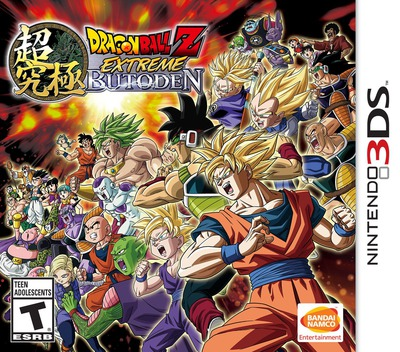 Dragon Ball Z - Extreme Butoden 3DS coverM (BDVE)