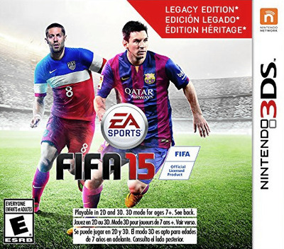 FIFA 15 - Legacy Edition 3DS coverM (BFTE)