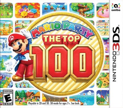 Mario Party: The Top 100 3DS coverM (BHRE)