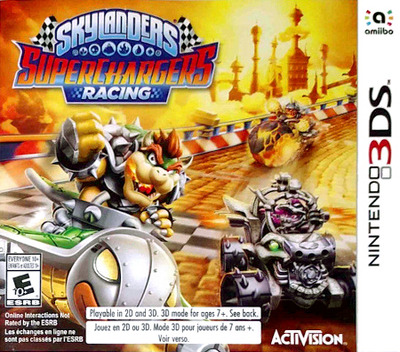 Skylanders SuperChargers Racing 3DS coverM (BL5E)