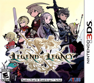The Legend of Legacy 3DS coverM (BLLE)