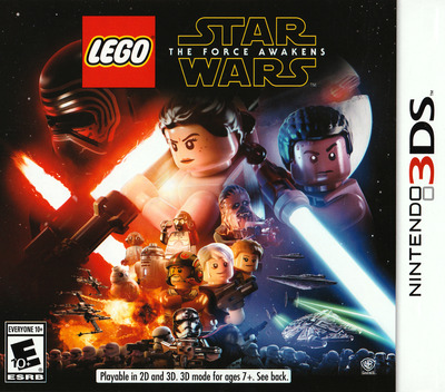 LEGO Star Wars: The Force Awakens 3DS coverM (BLWE)