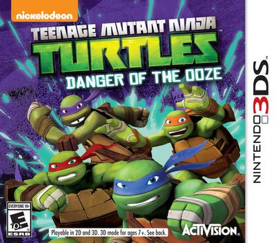 Teenage Mutant Ninja Turtles - Danger of the Ooze 3DS coverM (BMUE)