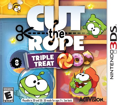 Cut the Rope - Triple Treat 3DS coverM (BR3E)