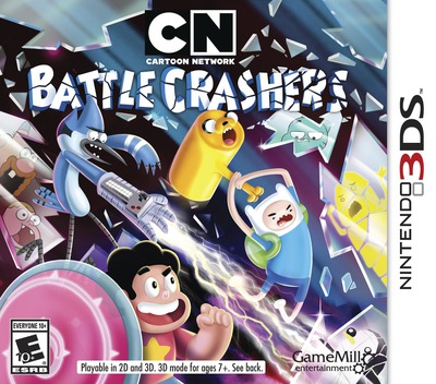 Cartoon Network - Battle Crashers 3DS coverM (BRWE)