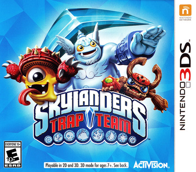 Skylanders Trap Team 3DS coverM (BS9E)