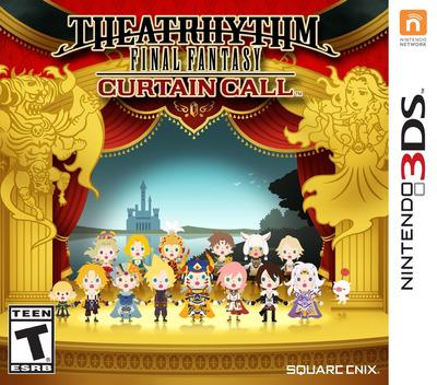 Theatrhythm Final Fantasy - Curtain Call 3DS coverM (BTHE)