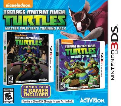Teenage Mutant Ninja Turtles - Master Splinter's Training Pack 3DS coverM (BTNE)
