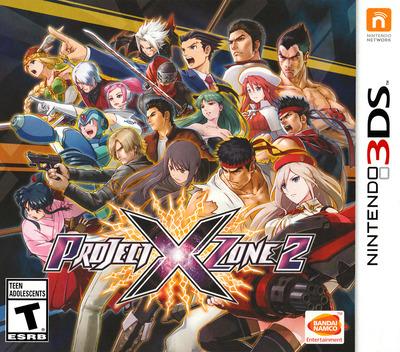 Project X Zone 2 3DS coverM (BX2E)
