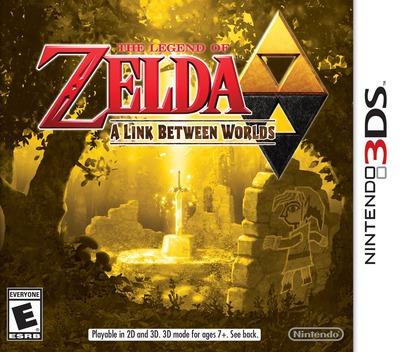 The Legend of Zelda - A Link Between Worlds 3DS coverM (BZLE)