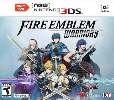 Fire Emblem Warriors 3DS coverM (CFME)