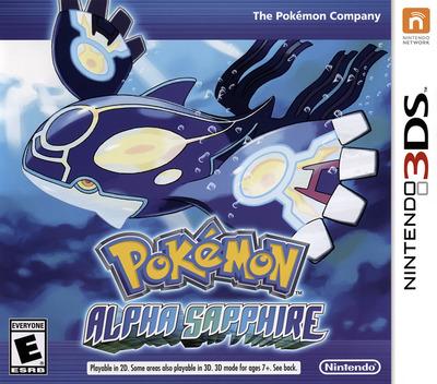 Pokémon Alpha Sapphire 3DS coverM (ECLE)