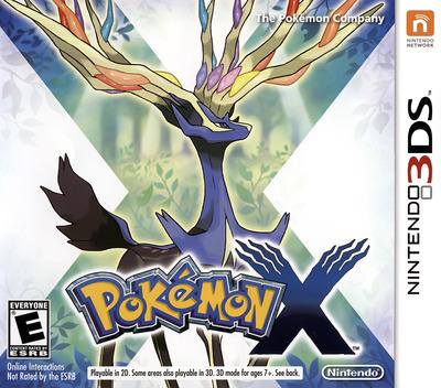 Pokémon X 3DS coverM (EKJE)