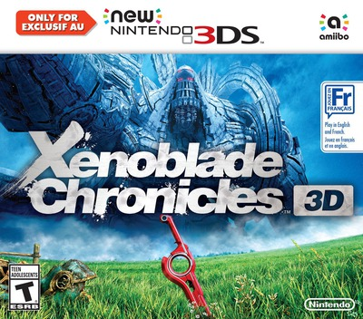 Xenoblade Chronicles 3D 3DS coverM (CAFE)