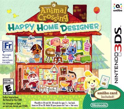 Animal Crossing - Happy Home Designer 3DS coverM (EDHE)