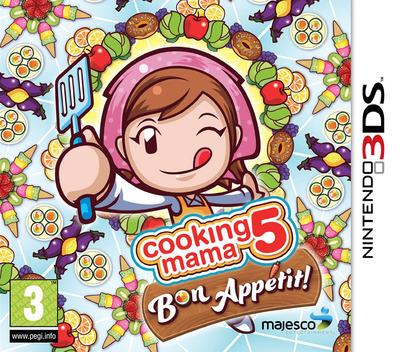 Cooking Mama - Bon Appetit! 3DS coverM2 (BC5P)