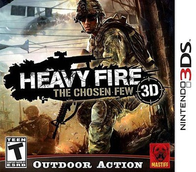 Heavy Fire - The Chosen Few 3DS coverM2 (AHVE)