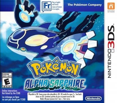 Pokémon Alpha Sapphire 3DS coverM2 (ECLE)