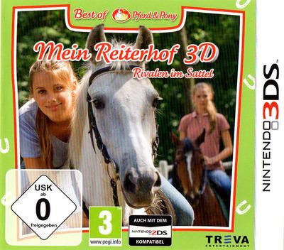 Mein Reiterhof 3D - Rivalen im Sattel 3DS coverMB (AMUP)