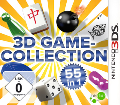 3D Game Collection - 55 in 1 3DS coverMB (AD3D)