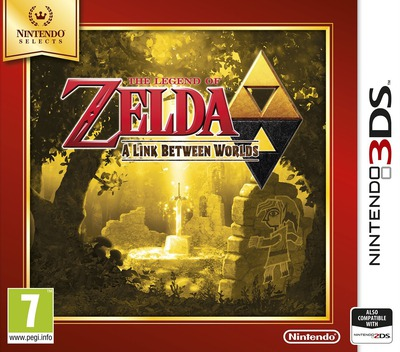 The Legend of Zelda - A Link Between Worlds 3DS coverMB (BZLP)