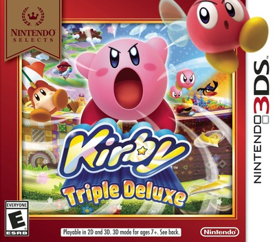 Kirby - Triple Deluxe 3DS coverMB (BALE)