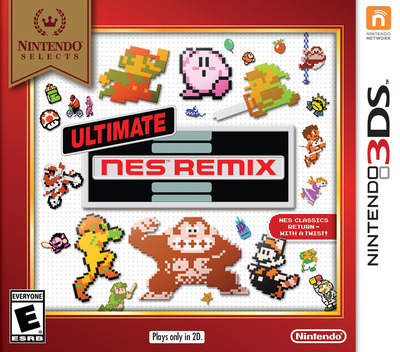 Ultimate NES Remix 3DS coverMB (BFRE)