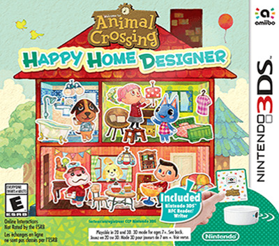 Animal Crossing - Happy Home Designer 3DS coverMB2 (EDHE)