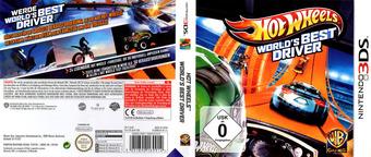 Hot Wheels - World's Best Driver 3DS cover (AEAP)