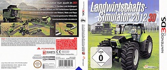 Farming Simulator 2012 3D 3DS cover (AL3P)