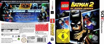 LEGO Batman 2 - DC Super Heroes 3DS cover (ALBD)