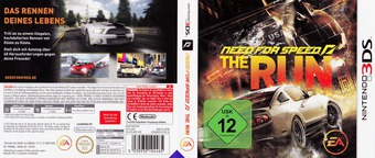 Need for Speed - The Run 3DS cover (ANSP)