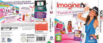 Imagine - Fashion Designer 3D 3DS cover (AGUP)