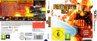 Real Heroes - Firefighter 3D 3DS cover (ARHD)