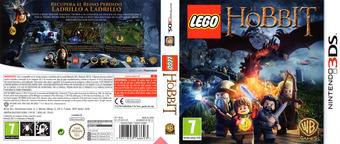LEGO The Hobbit 3DS cover (BLHX)