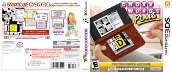 Crosswords Plus 3DS cover (AQ8E)
