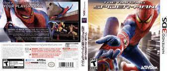 The Amazing Spider-Man 3DS cover (AS8E)