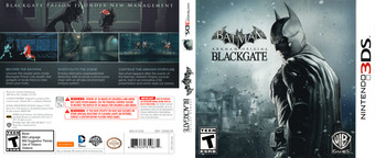 Batman - Arkham Origins Blackgate 3DS cover (AZEE)