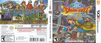 Dragon Quest VIII: Journey of the Cursed King 3DS cover (BQ8E)