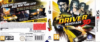 Driver Renegade 3D 3DS cover (ADRP)