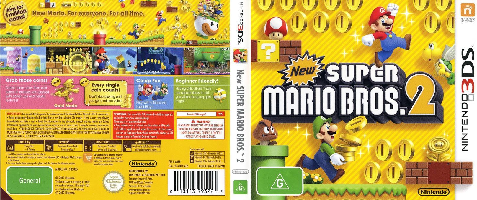 New Super Mario Bros. 2 3DS coverfullHQ (ABEP)