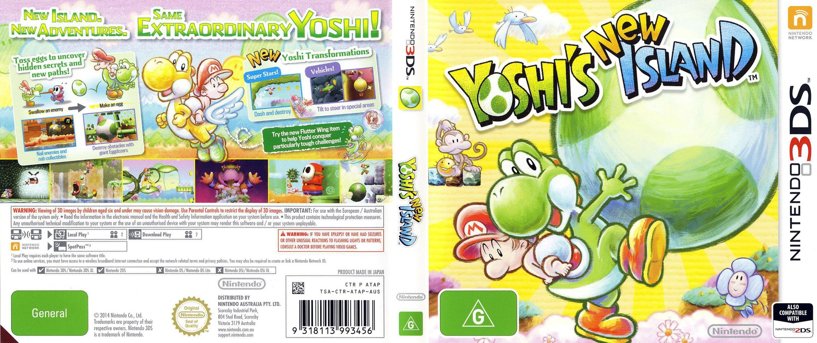 Yoshi's New Island 3DS coverfullHQ (ATAP)