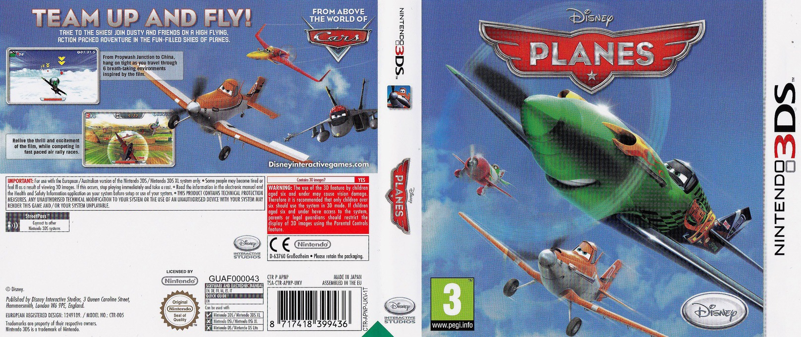 Disney Planes 3DS coverfullHQ (APNP)