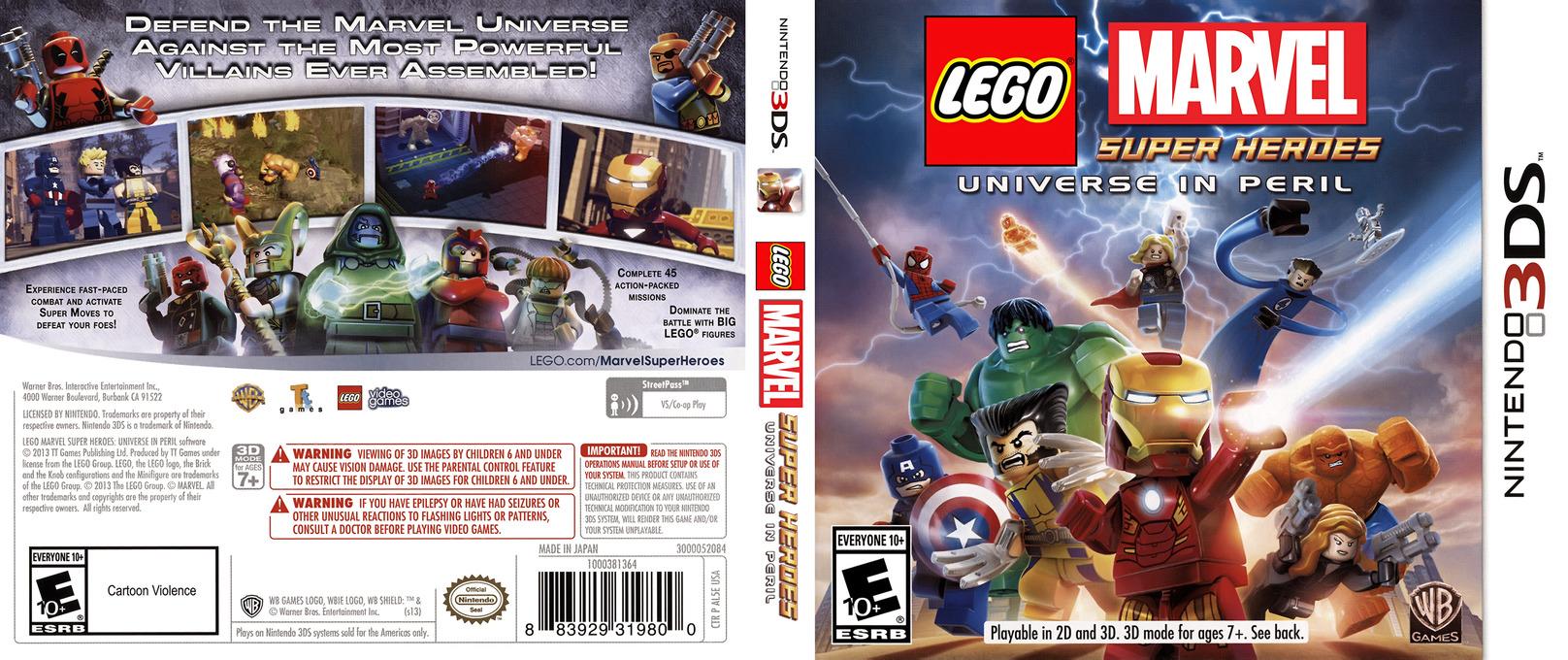 LEGO Marvel Super Heroes - Universe in Peril 3DS coverfullHQ (AL5E)