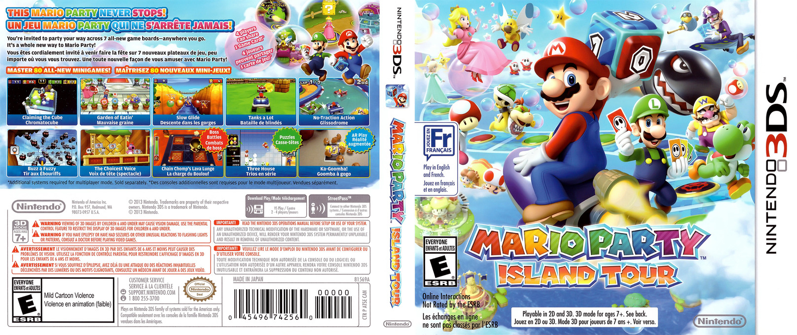 Mario Party - Island Tour 3DS coverfullHQ (ATSE)