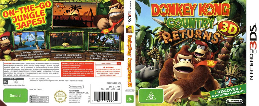 Donkey Kong Country Returns 3D 3DS coverfullM (AYTP)