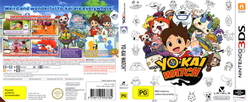 Yo-Kai Watch 3DS coverfullM (AYWZ)