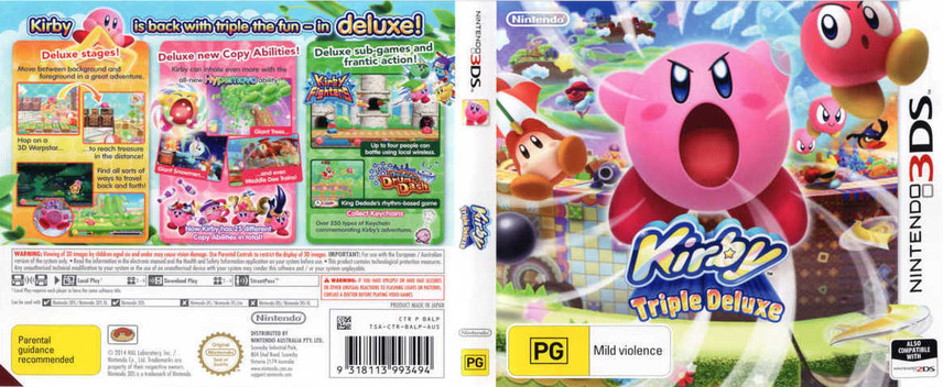 Kirby - Triple Deluxe 3DS coverfullM (BALP)