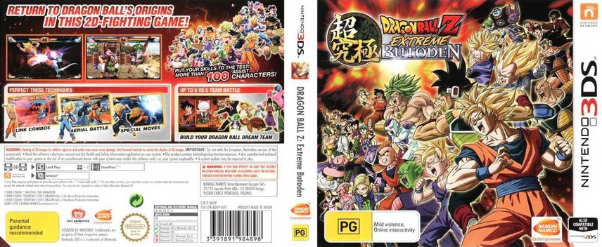 Dragon Ball Z - Extreme Butoden 3DS coverfullM (BDVP)